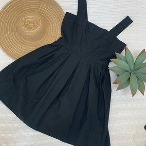 NWT Gap little black dress fit flare sleeveless